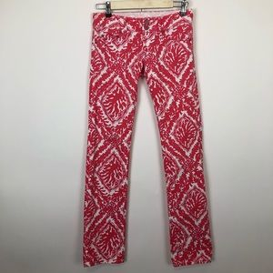 Lilly Pulitzer Jeans - Lilly Pulitzer worth straight  coral denim jean 00